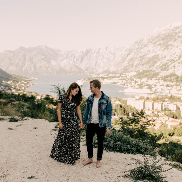 Lotte & Henri - Destination Love shoot @ Kotor, Montenegro